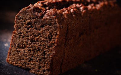 Gluten-free and lactose-free chocolate cake
